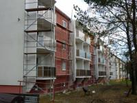 Rekonstrukce fasád a balkonů